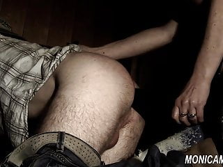 Derogatory femdom barngirl is making out with an increment of pegging - Norske Monica