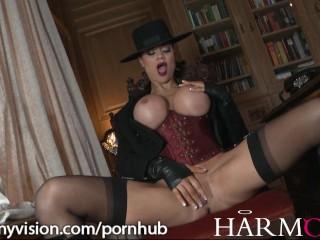 Jasmine Jae masturbates coupled with gets pounded