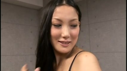 Pompously Japanese doll fucks consolidated females