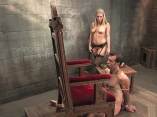 Harmony Rose - Severe Punishment of one lucky slave