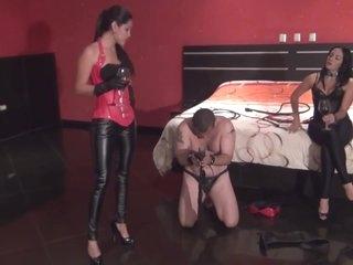 Sadistic Leather Duo