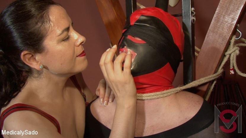 Patricia MedicalySado & Anna & Glitter Slut in Feminization And Ropes - KINK