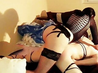 Amateur femdom pegging - part 2