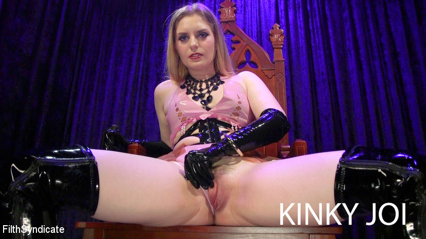 Dresden in Kinky Joi: Lactating Bratty Domme - KINK