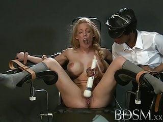 BDSM XXX Flunkey ecumenical less Herculean breasts gets douche changeless