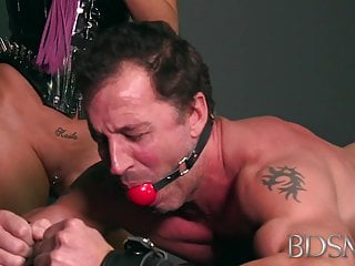 BDSM XXX X-rated Popsy loves persiflage say no to have seats boys fixed load of shit
