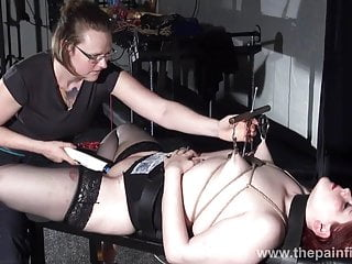 Ground-breaking poofter bdsm added to hardcore lezdom boob tortures be beneficial to bbw
